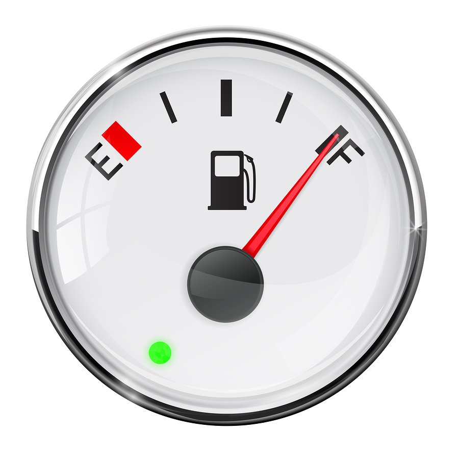 Fuel Gauge Full Tank Vector Illustration On White Background Kia Sedona Gauges