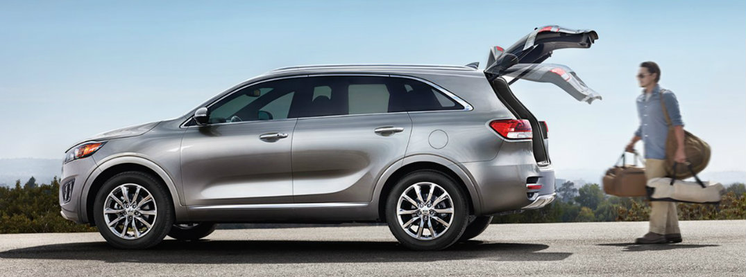 2017 Kia Sorento cargo and passenger space