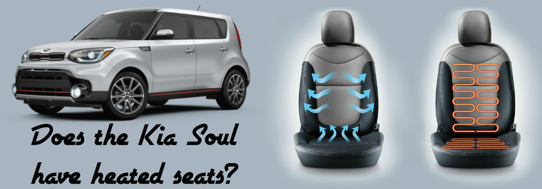 does the 2017 Kia Soul have heated seats