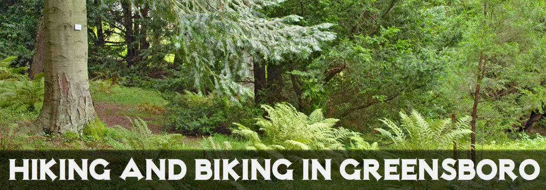 hiking and biking in greensboro