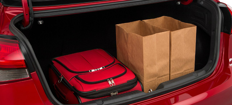 2017 Kia Forte Trunk Space