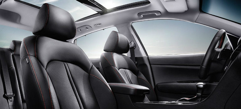 2017 Kia Optima panoramic sunroof