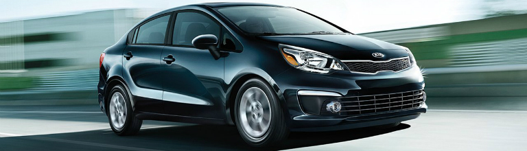 2017 Kia Rio Side View
