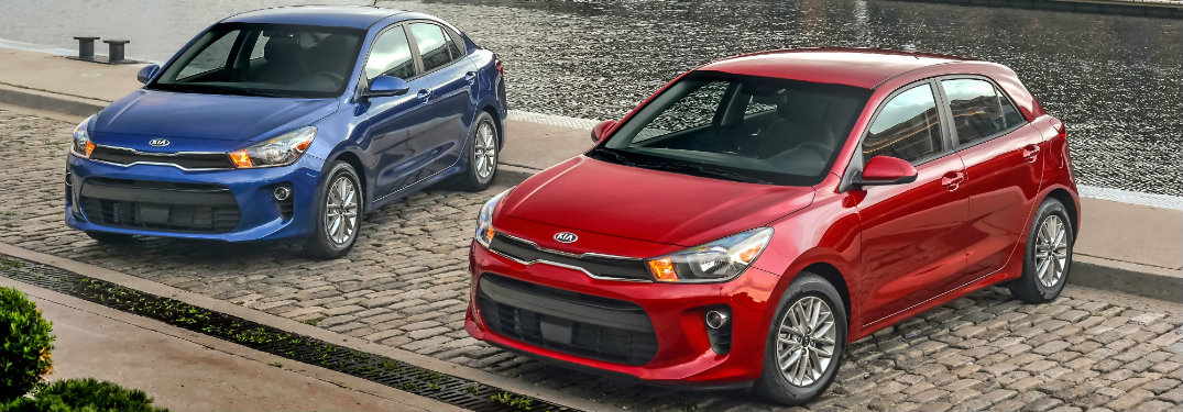 2018 Kia Rio Sedan and Hatchback
