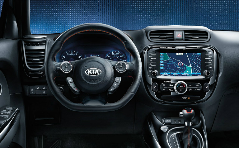 2018 Kia Soul steering wheel