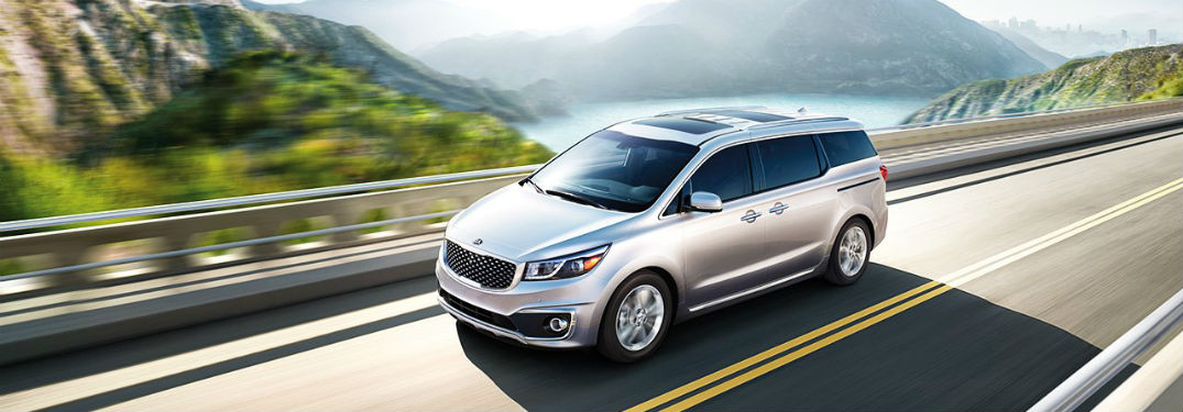 Driver's side exterior view of 2018 Kia Sedona