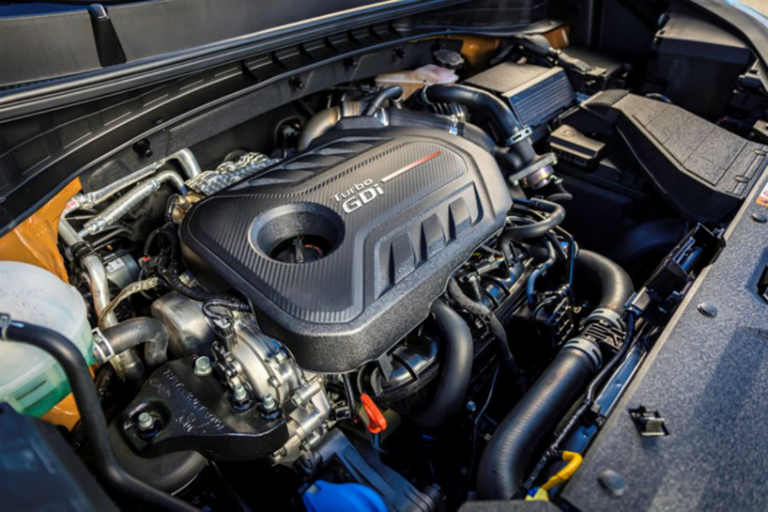 A look at the 2018 Kia Sportage's turbocharged engine