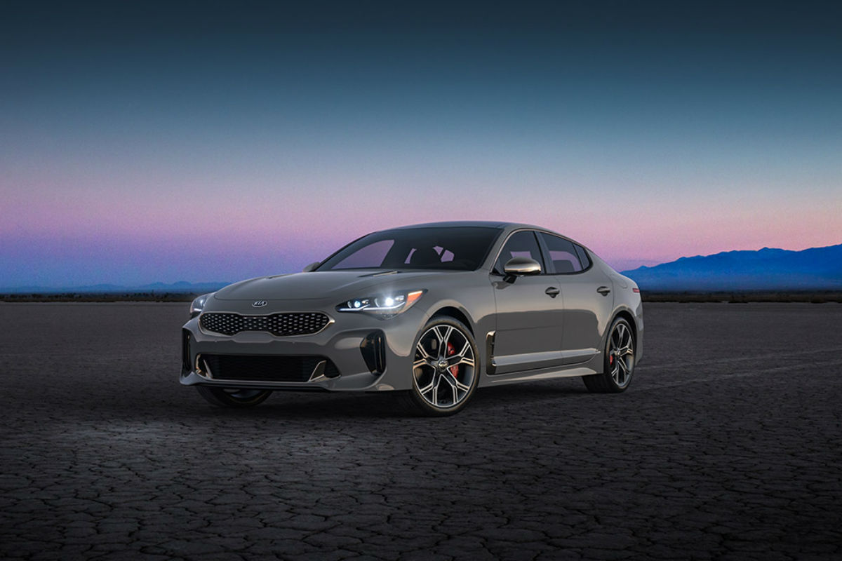 2018 Kia Stinger in Ceramic Silver