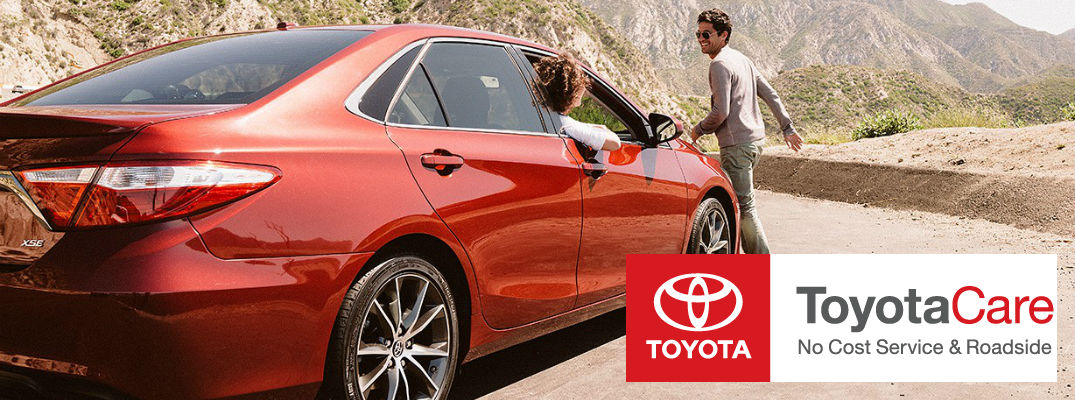 ... 2015 Toyota Camry ToyotaCare Roadsite Assistance Maintenance