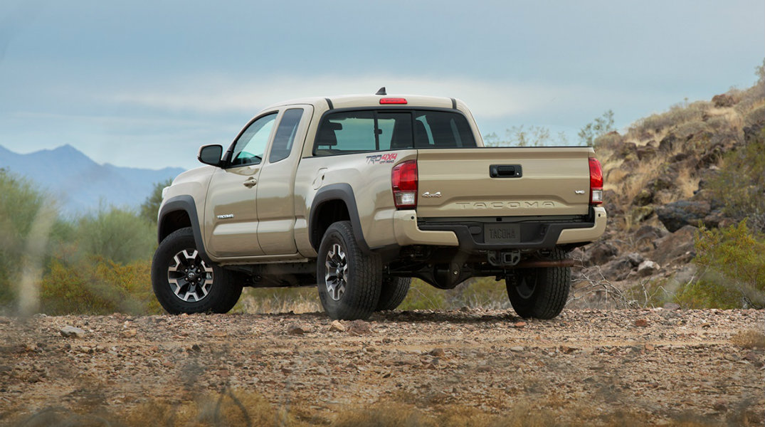 Pictures of the new and improved 2016 Toyota Tacoma