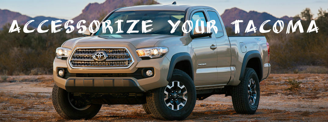 Accessory packages for the 2016 Toyota Tacoma