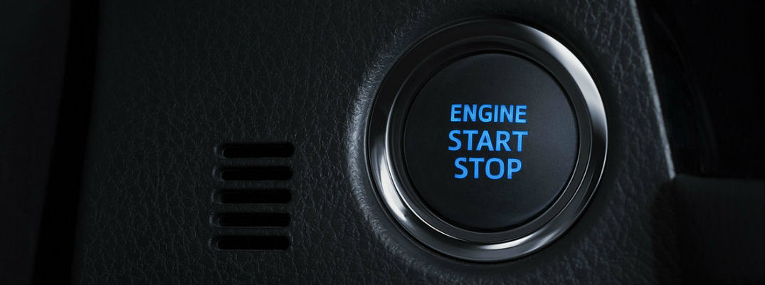 How does Toyota Push Button Start work?