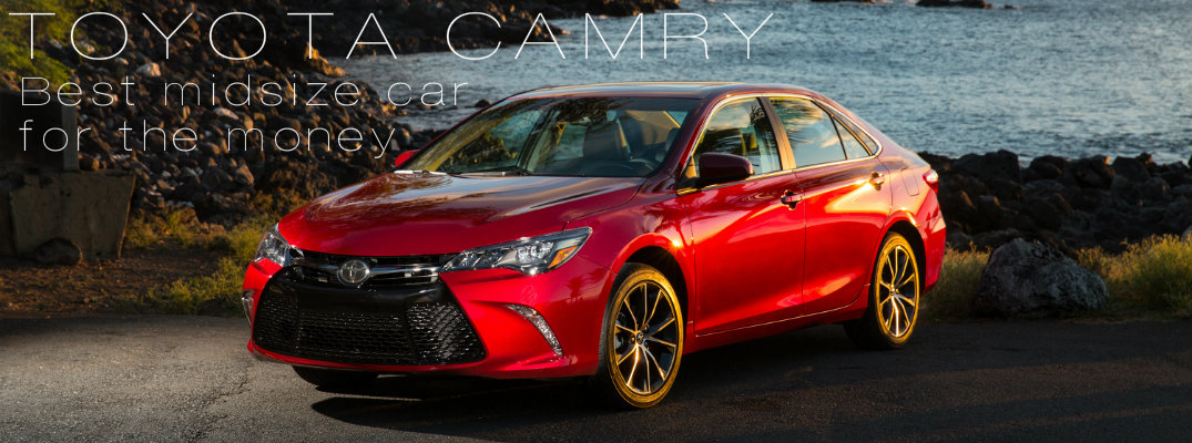 toyota camry rated best midsize car for the money. Black Bedroom Furniture Sets. Home Design Ideas