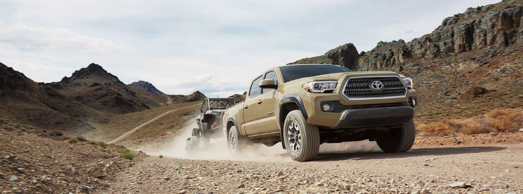 Tacoma Towing Capacity >> What Is The Towing Capacity Of The 2017 Toyota Tacoma