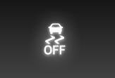 What does the Toyota TRAC OFF light mean?