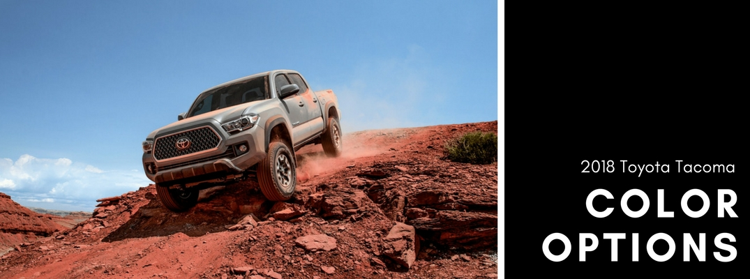 1a6fb6ee What color options are available for the 2018 Toyota Tacoma?