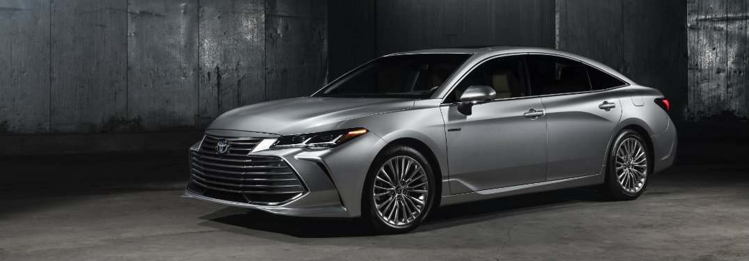2019 Toyota Avalon Color Options
