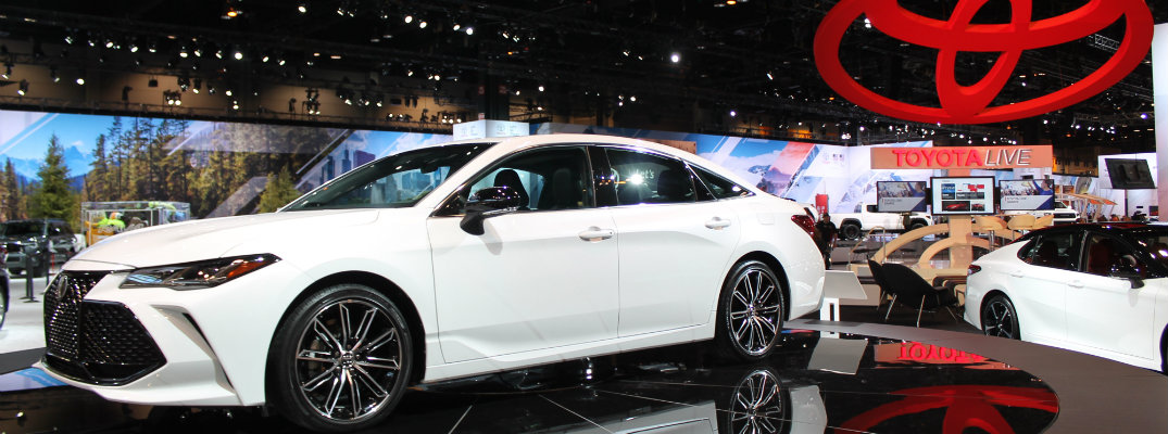 Toyota Avalon On Display At Chicago Auto Show - Toyota show car