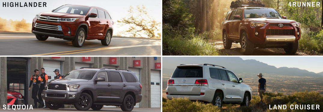 What's the difference between Toyota 3-row SUVs?