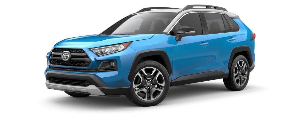 2019 Toyota Rav4 Color Options