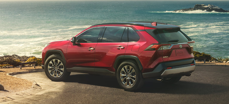 2019 Toyota Rav4 In Ruby Flare Pearl O Toyota Vacaville