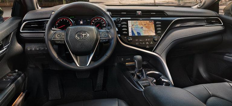 2018-Toyota-Camry-XSE-interior-dashboard_o - Toyota Vacaville