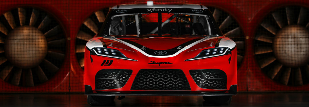 When is the Toyota Supra joining the NASCAR Xfinity Series?