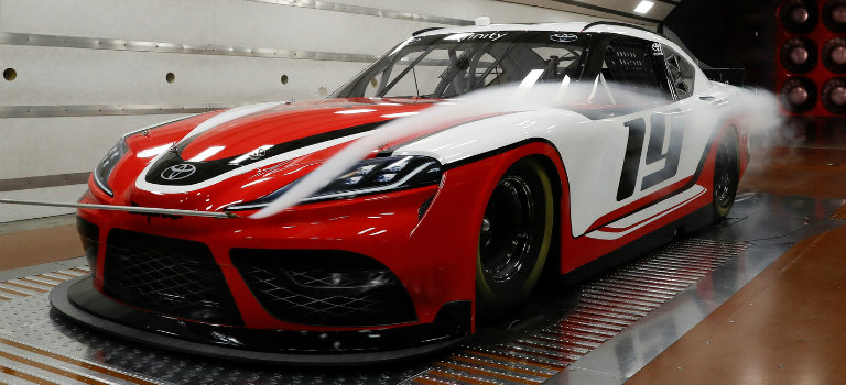 front-side-view-of-2019-Toyota-Supra-NASCAR-model_o - Toyota