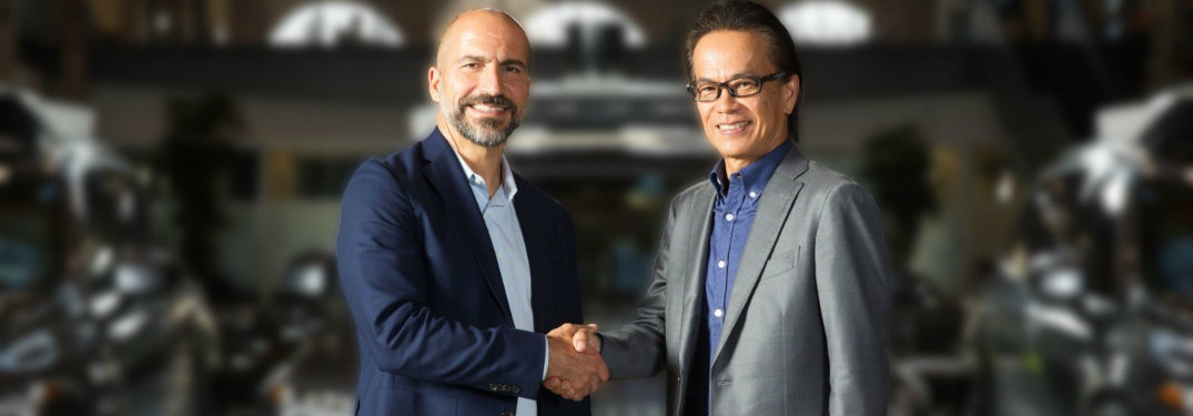 Toyota and Uber collaborate to develop autonomous vehicle technology