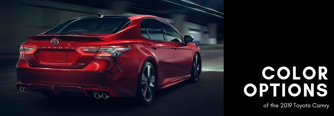 Metallic Car Paint Colors >> 2019 Toyota Camry color options