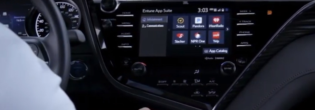 Toyota Entune Audio Integrated Navigation vs Connected Navigation