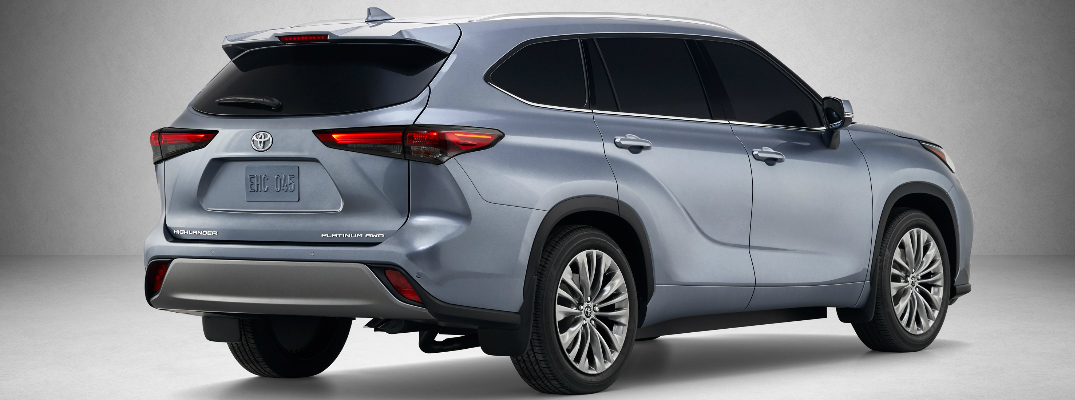 Performance Specs of the 2020 Toyota Highlander