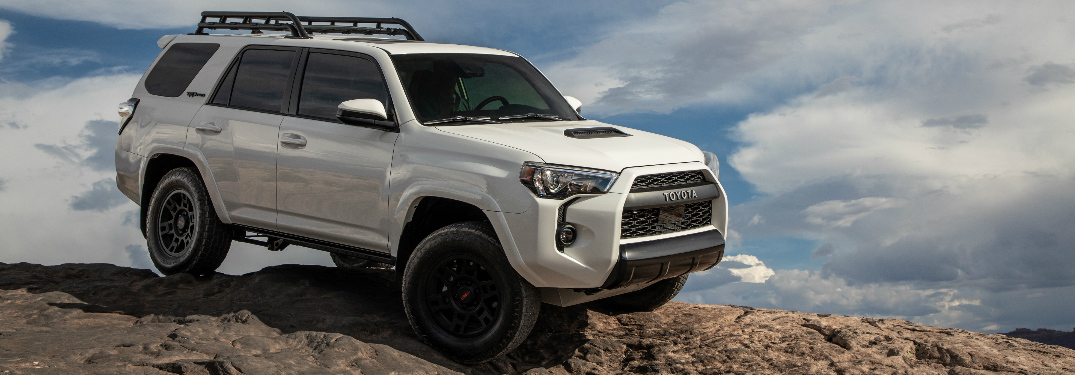 White Toyota 4runner >> What New Features Does The 2020 Toyota 4runner Offer