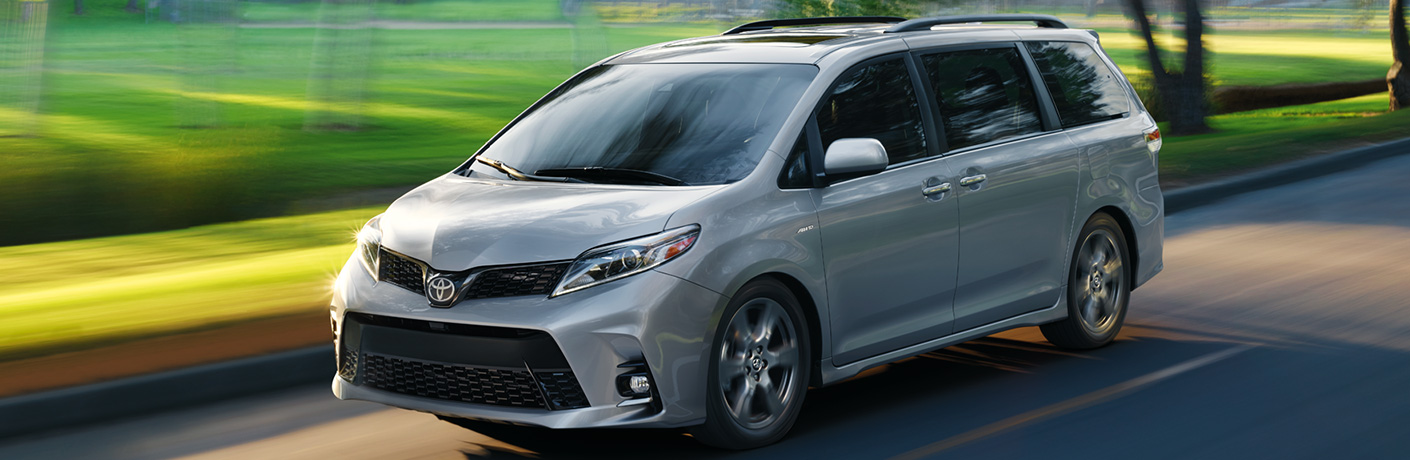 See How the 2020 Toyota Sienna Favorably Stacks Up Against the Minivan Competition