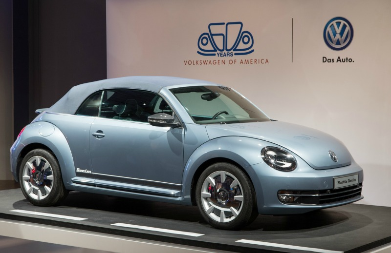 Special Edition Vw Beetle Convertible Denim Showroom New