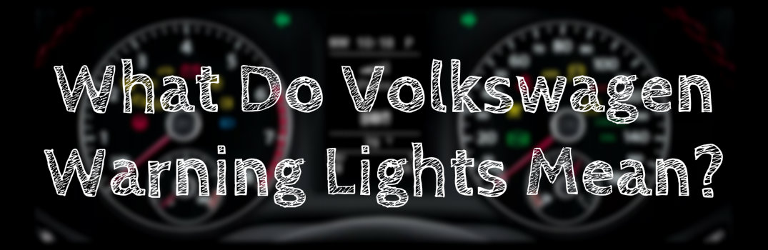 Volkswagen Dashboard Warning Lights Meaning