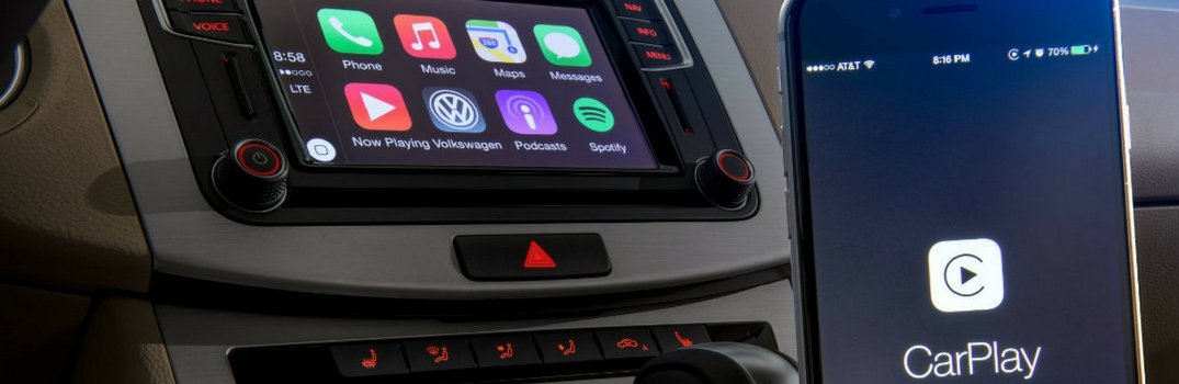 Apple CarPlay in a 2018 Volkswagen model