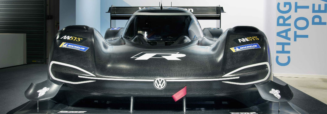 Front end of the Volkswagen I.D. R Pikes Peak