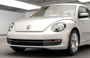 white volkswagen beetle tdi model