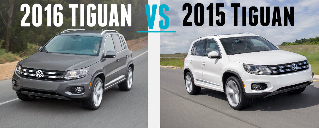 2016 Vs 2015 Volkswagen Tiguan Differences