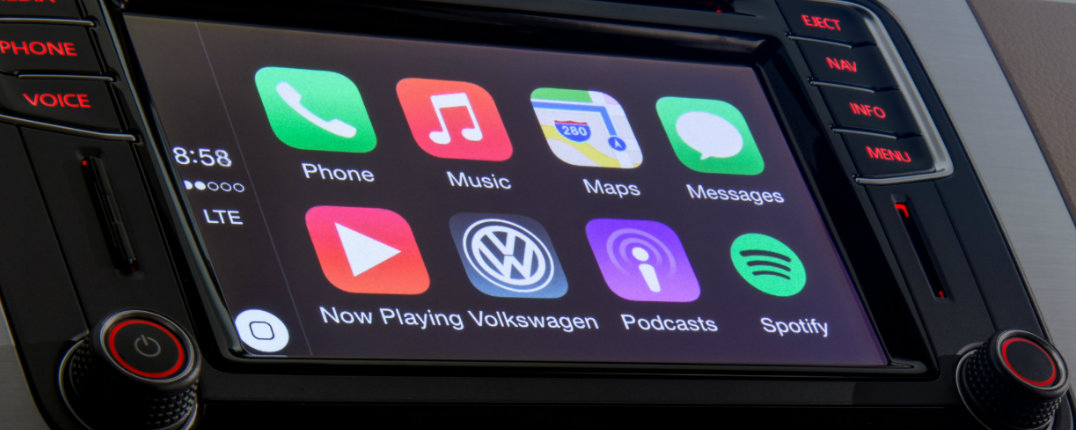 2016 MIB II Infotainment SYstem Apple CarPlay