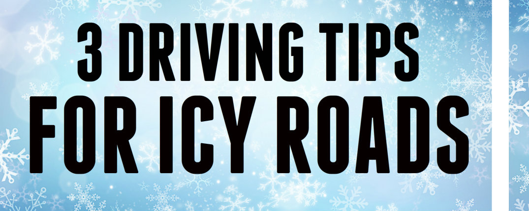Driving on icy roads Tips for new drivers