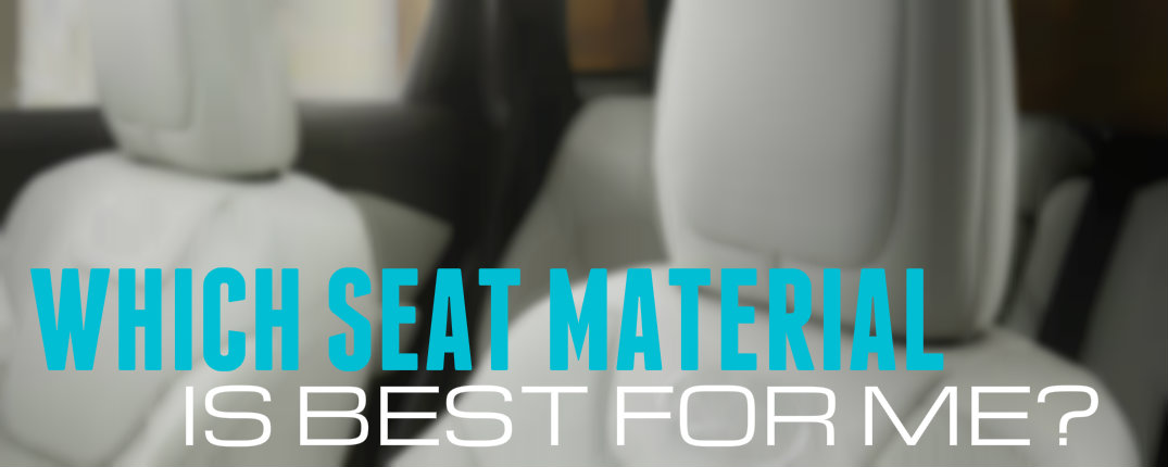 Car Seating Trim Options Comparison Leather vs Cloth