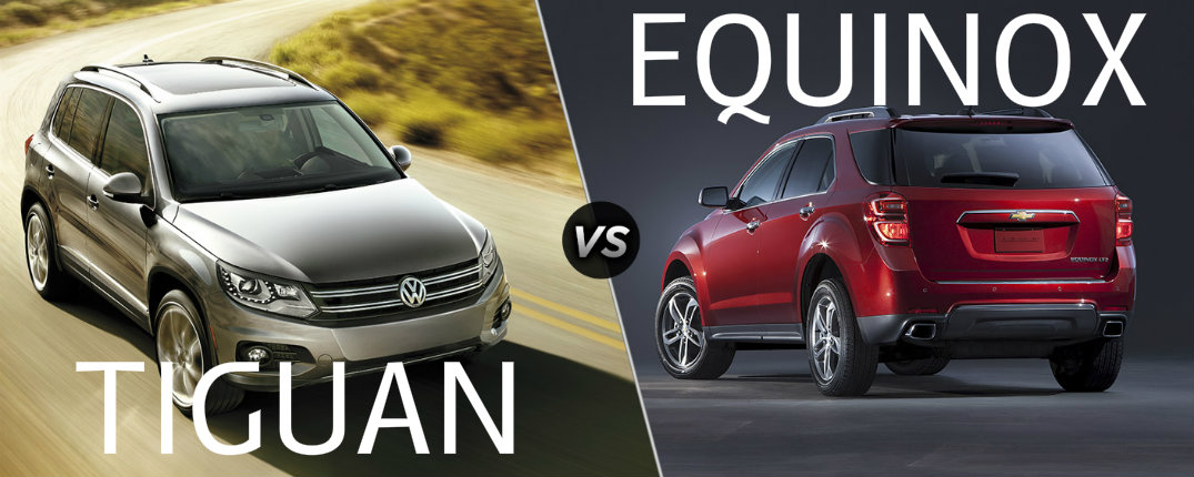 2016 Tiguan vs 2016 Equinox