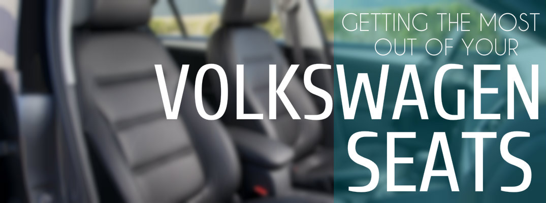 Optional Volkswagen Driver's Seat Technology