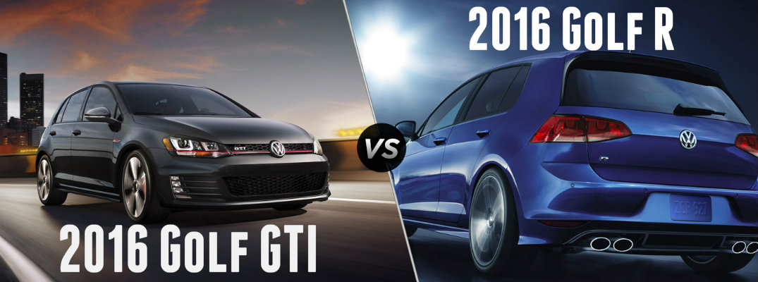 Differences Between Golf R And Golf Gti