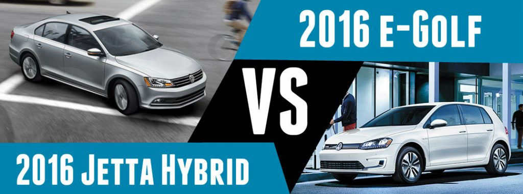 Range Difference Between Volkswagen e-Golf and Jetta Hybrid