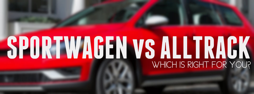 Volkswagen Golf SportWagen vs Alltrack Engine Specs