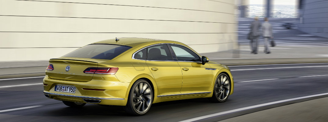 2018 Volkswagen Arteon R-Line Engine Performance