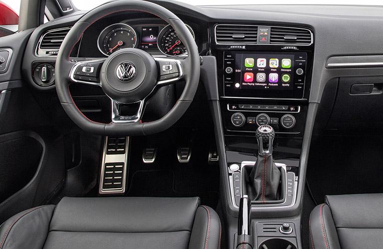 2018 Volkswagen Golf GTI dashboard